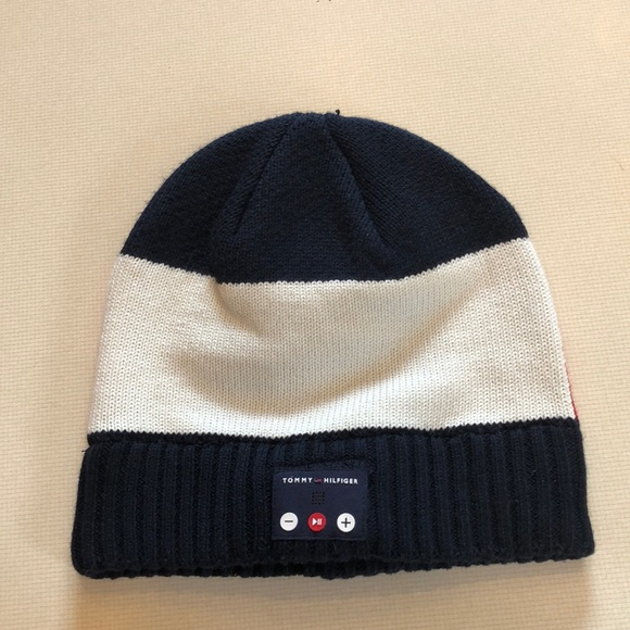 f8e9e71cf3d0 Tommy Hilfiger Accessories   520 Beanie With Bluetooth   Poshmark
